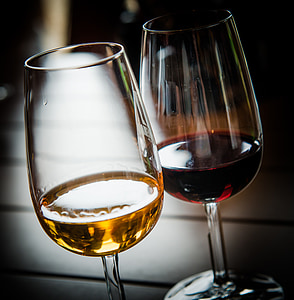 vi, vidre, vi de Porto, vi negre, vi blanc, Tast de vins, copes de vi