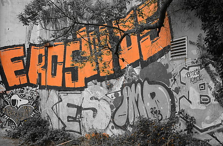 graffiti, Street art, Városi Művészeti, Art, permetezőgép, falfestmény, Berlin