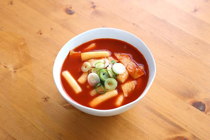 toppokki, 食品, 韩国食品, 辛辣的食物