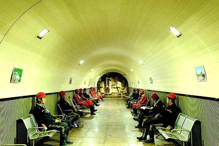 працівник, світло, шахти, в приміщенні, Стілець, люди, Архітектура