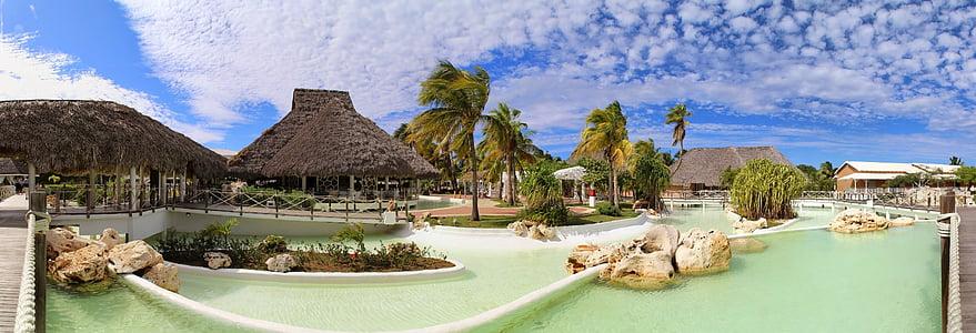 Hotel, Kuba, slobodno vrijeme, naselje, odmor, raj, Karibi
