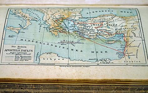 mapa, mapa del món, vell, país, viatges, Cartografia, topografia