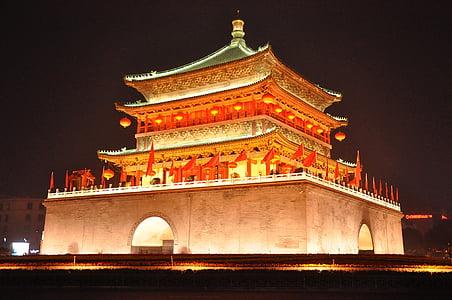 templet, Pagoda, Kina, Asia, byggnad, landmärke, buddhismen