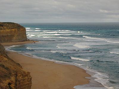Australie, littoral, océan, mer, Côte, paysage, Scenic