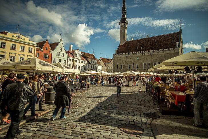 Tallinn, staden, turism
