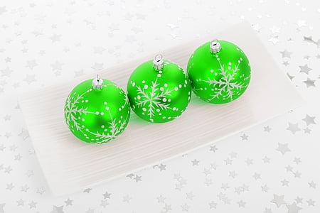 bola, perhiasan, Natal, dekorasi, dekoratif, meriah, kaca