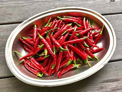 paprika-ljutica, pandža Hawk, kuhinja dvorište, Crveni, hrana i piće, svježinu, zdrava ishrana
