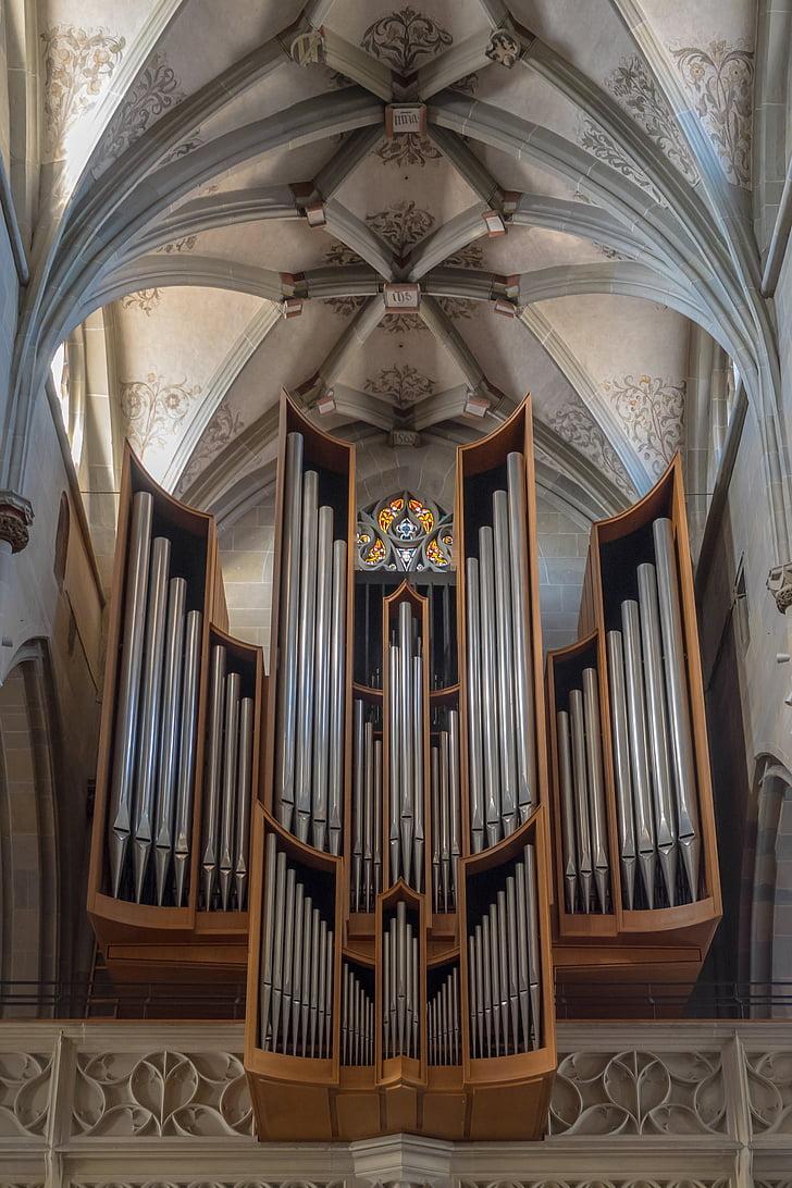 Orgel, Kirche, Kirchenorgel, Orgel-Pfeife, Musik, Instrument, Pfeife