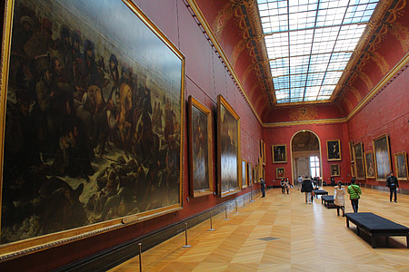 Art, Galerii, pilt, näitus, muuseum, Double
