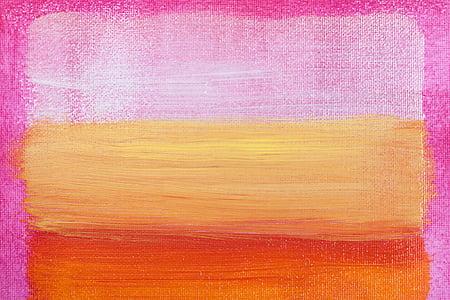 cat, lukisan, gambar, Desain, ekspresionisme abstrak, warna bidang lukisan, gaya
