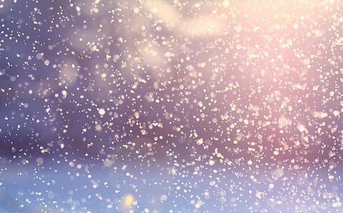sneženie, zimné, sneh, snehové vločky, vločky, sneženie, za studena