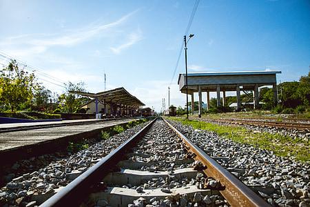 cestování, vlakem, cesta, cestovatel, Doprava, cesta, turistické