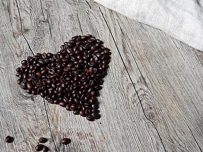 café, grains de café, haricots, caféine, torréfié, torréfaction, boissons