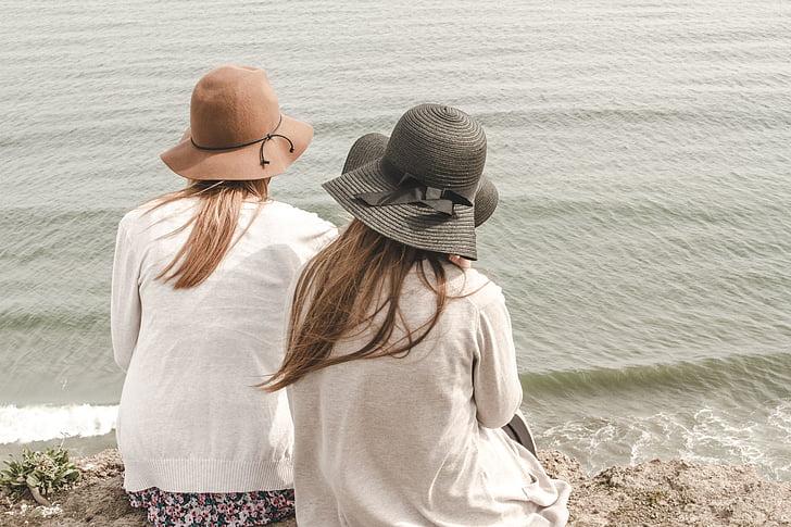 пляж, Головні убори, океан, на відкритому повітрі, люди, пісок, море