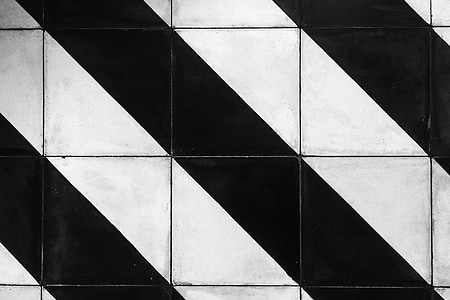 pruhy, vzor, dlaždice, textura, návrh, pozadí, černá a bílá