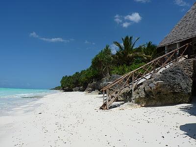 Zanzibar, plajă, mare, coasta, vacanta, nisip, plaja cu nisip