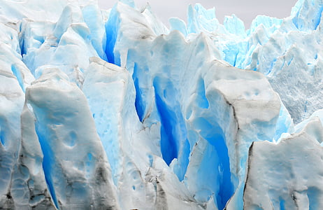 glaciärer, Patagonia, Ice, blå, naturen, isgrotta, fryst