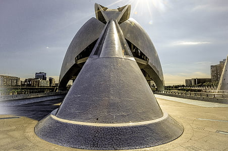 arhitektuur, Santiago calatrava, City, Turism, Hispaania, Valencia, City of arts