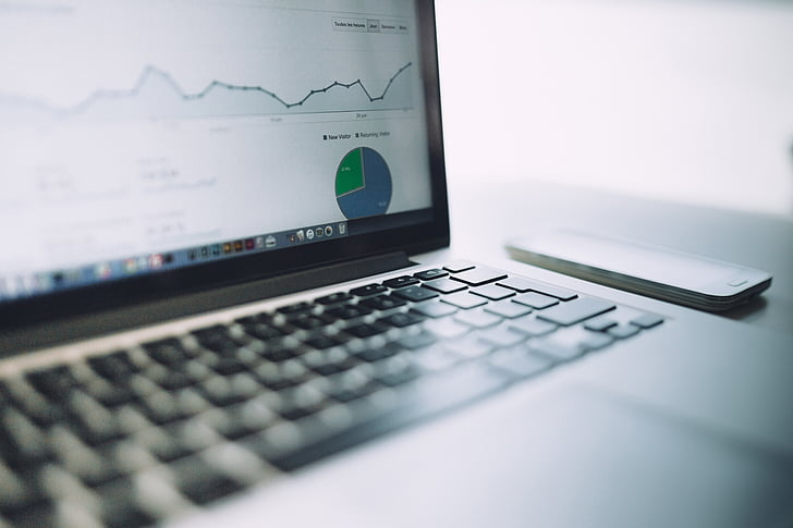 MacBook, Pro, zameranie, Foto, Analytics, grafy, prevádzky