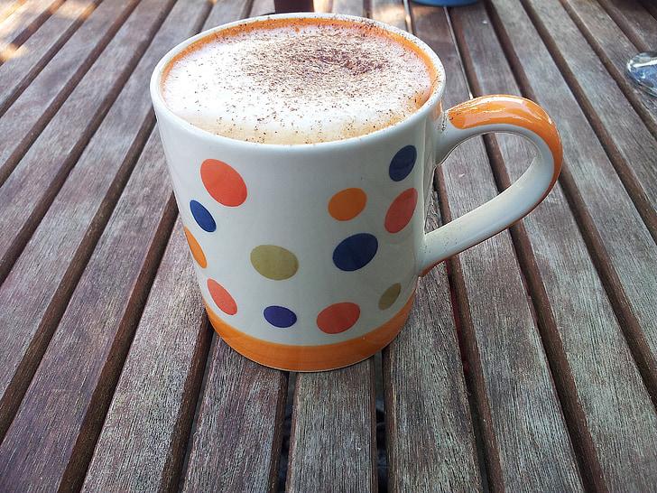 koffie, Mok, Beker, drankje, Ontbijt, bruin, drank