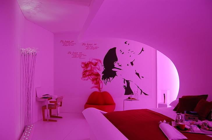 frases, sala, relaxar-se, Habitació interior, decoració, l'interior, moderna