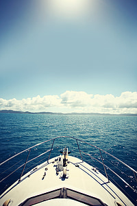 boat, ocean, travel, water, ship, yacht, vacation
