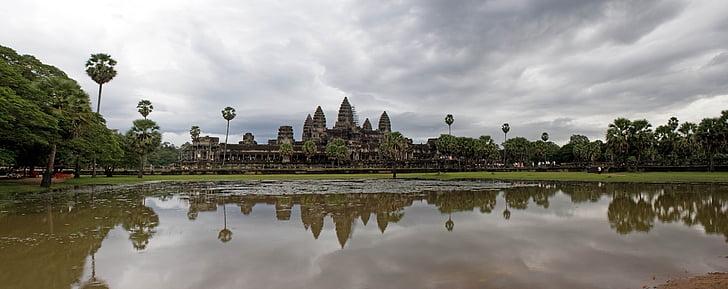 Angkor wat, Kambodscha, Angkor, Wat, Tempel, alt, Religion