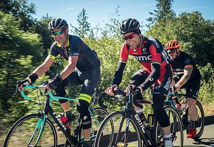 Ciclisme, bicicleta, cicle, esport, bicicletes, casc, ciclista