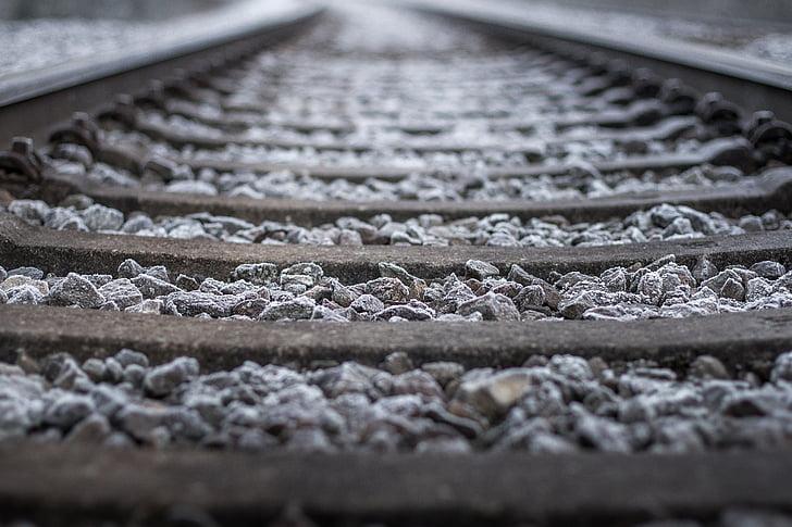 듯, 철도 트랙, 철도, 기차 트랙, 철도 레일, 듯 침대, 기차