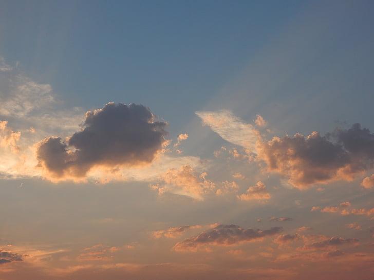 Alba, espectacle natural, cel, començament del dia, resta, començar el dia, Alba