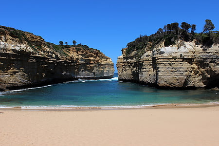 Australie, route du grand océan, Cove, vacances, paysage, nature, Scenic
