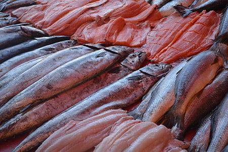 fish, sea, fishing, fish shop, fishermen