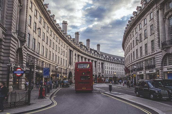 Londres, carrer Regent, Anglaterra, carrer, Regne Unit, Regent, viatges