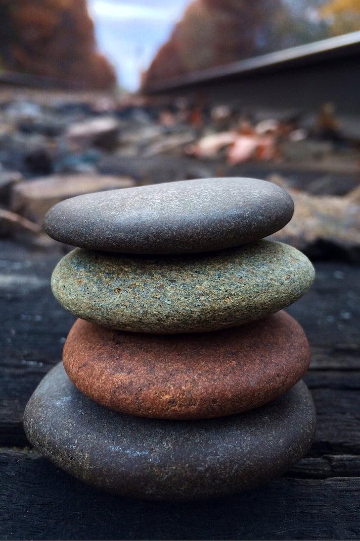 rock, balance, stone, zen, nature, stone - Object, zen-like