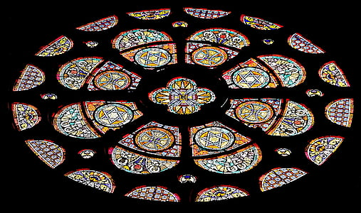 finestra della Chiesa, finestra, Chiesa, vetro macchiato, vetro, brillare attraverso, Colore