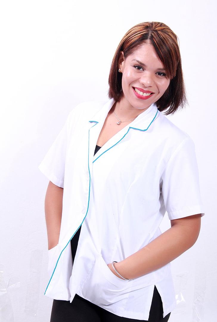 Dr, masaż, masaż terapeuta, pracy, kobiety, Fryzjer, ręce