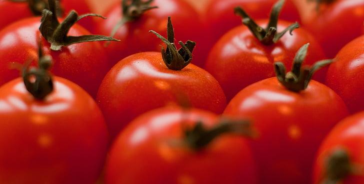 tomàquets, vermell, fruita, tomàquet, aliments, fresc, Sa