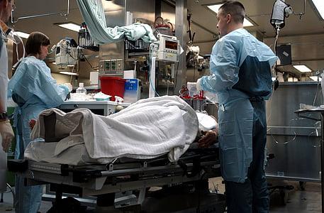 阿拉伯湾, 美国海军, 舒适船, 急诊室, 医疗, 医生, 护士