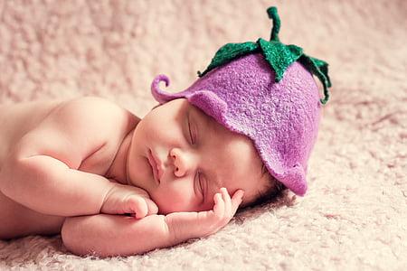 novorozence, Kid, Newburn, sen, ospalý, Fajn, Milé