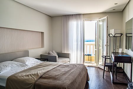 travel, hotel rooms, hotel, room, bed, interior, business