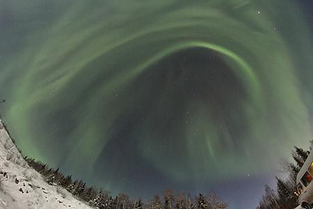 Aurora, Alaska, Borealis, celestial, neu, gira