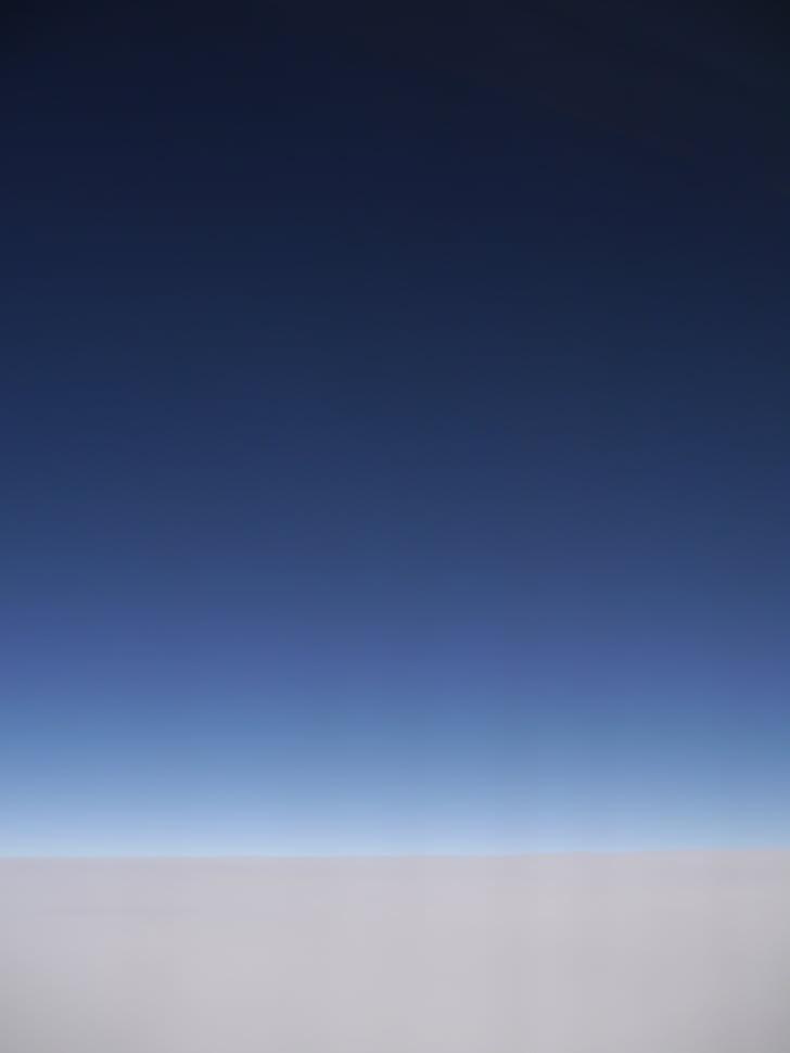 ทะเลเมฆ, ท้องฟ้า, จักรวาล, ภาพถ่ายทางอากาศ, สีฟ้า, สีเทา