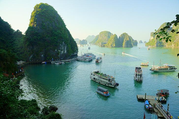 Vietnam, Badia de Halong, d'enviament