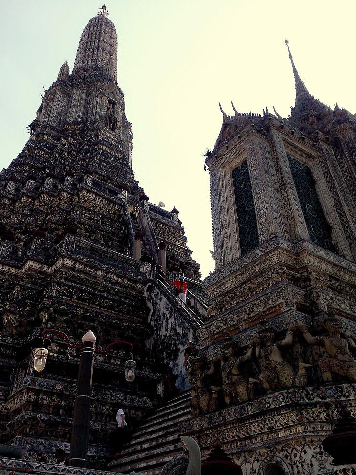 Wat arun, Maßnahme, Tempel, Architektur, Thailand, Religion, Buddhismus