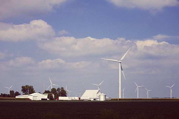 tuuleenergia, tuuleenergia, tuuleturbiinid, keskkonnasõbralik, elektrienergia, keskkonna, Tuul