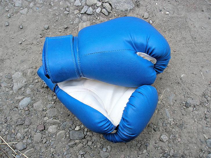 boxa, esports, guants, fort
