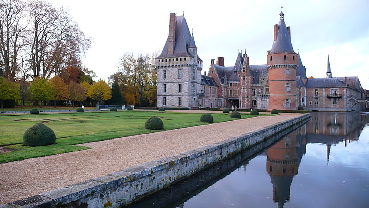 Castell, França, calma