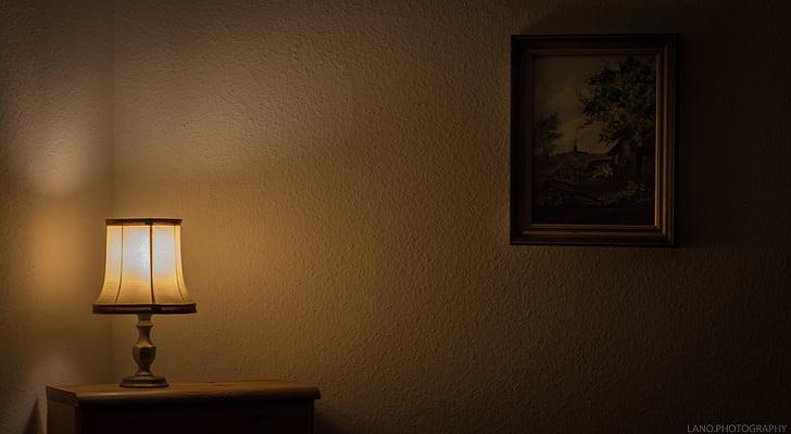 Menas, klasikinis, tamsus, tuščias, baldai, Pagrindinis puslapis, namas