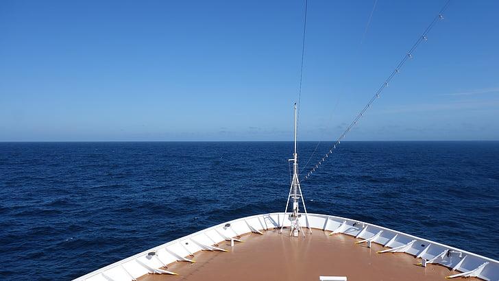 havet, fartyg, kryssningsfartyg, fartyg, kryssning, resor, Ocean