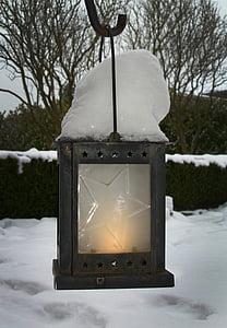 mùa đông, tuyết, đèn lồng, wintry, tuyết rơi, mùa đông lạnh, ánh sáng